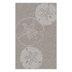 Brumlow Mills Sand Dollars Beach Printed Rug