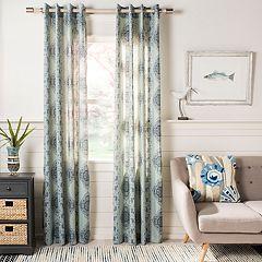 Safavieh 1-Panel Florina Window Curtain