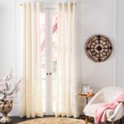Safavieh 1-Panel Lerapetra Window Curtain