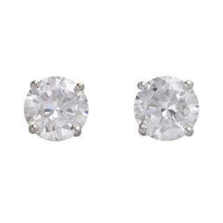 DiamonLuxe Sterling Silver 5-ct. T.W. Simulated Diamonds Stud Earrings