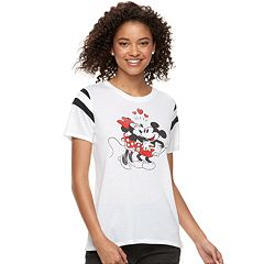 Disney's Mickey & Minnie Mouse Juniors' Varsity Tee