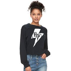 Juniors' Harry Potter Lightning Bolt Graphic Tee