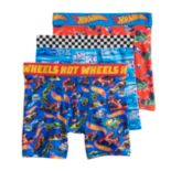 Boys 4-8 Hot Wheels 3-Pack Boxer Briefs