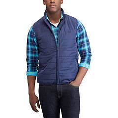 Men's Chaps Regular-Fit Packable Quilted Vest