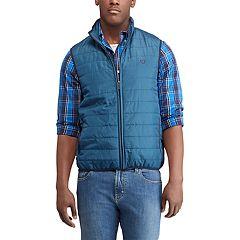 Men's Chaps Regular-Fit Packable Quilted Vest