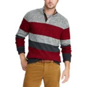 Men's Chaps Classic-Fit Striped Mockneck Sweater