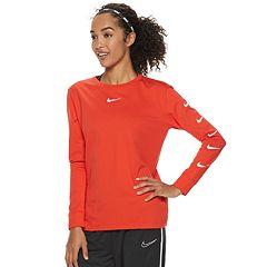 Women's Nike Sportswear Swoosh Long-Sleeve Top