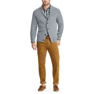 Men's Chaps Classic-Fit Shawl-Collar Cardigan Sweater