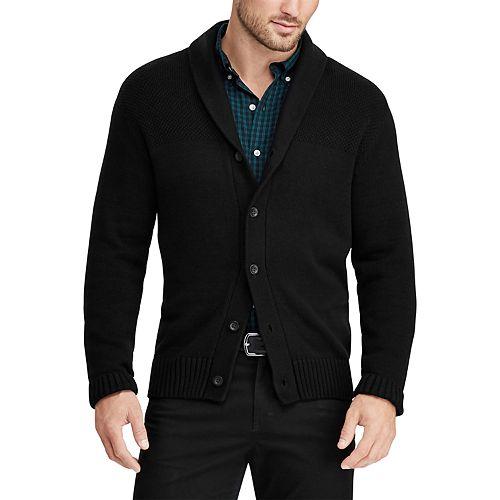 Men's Chaps Classic-Fit Shawl-Collar Cardigan Sweater