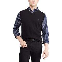 Men's Chaps Regular-Fit V-Neck Sweater Vest