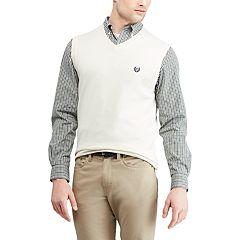 Men's Chaps Regular-Fit V-Neck Sweater Vest