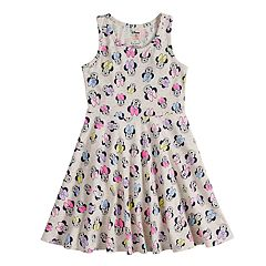 Disney's Minnie Mouse Girls 4-10 Racerback Swing Dress by Jumping Beans®
