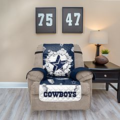 Dallas Cowboys Breakthrough Recliner Chair Cover
