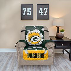 Green Bay Packers Breakthrough Recliner Chair Cover