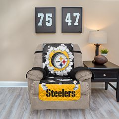 Pittsburgh Steelers Breakthrough Recliner Chair Cover