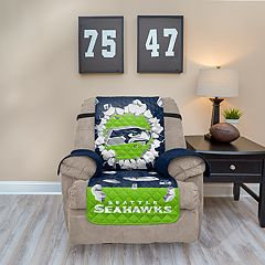 Seattle Seahawks Breakthrough Recliner Chair Cover