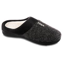 Women's isotoner Marisol Heather Knit Hoodback Slippers