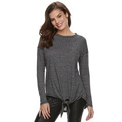 Women's Rock & Republic® Tie-Front Tunic