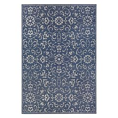 Couristan Monte Carlo Summer Vines Floral Indoor Outdoor Rug