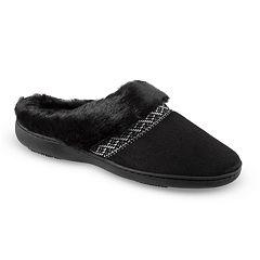 Women's isotoner Microsuede Basil Hoodback Slippers