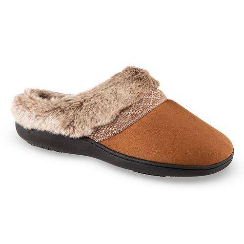 935e390db41791 Women s isotoner Microsuede Basil Hoodback Slippers
