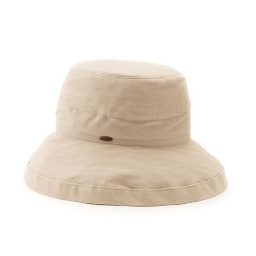 Women's Scala Cotton Medium Brim Hat