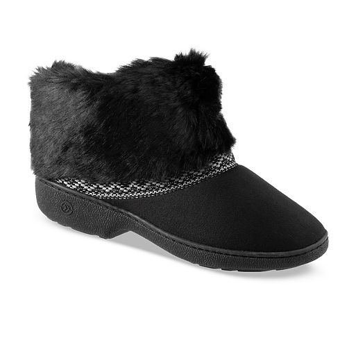 4a8c3fb8909a Women s isotoner Microsuede Basil Boot Slippers