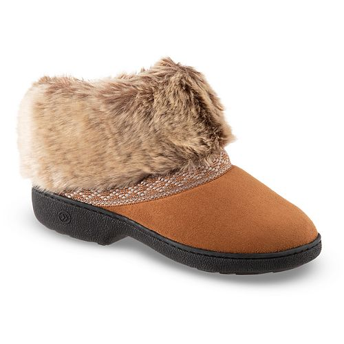 767d7ad94 Women's isotoner Microsuede Basil Boot Slippers