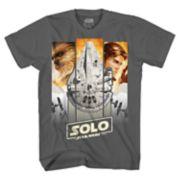 Boys 8-20 Han Solo Chewie Tee