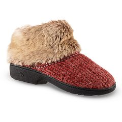 Women's isotoner Haley Sweater Knit Boot Slippers