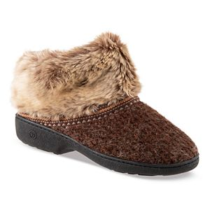76e0ece46 Regular. $34.00. Women's isotoner Haley Sweater Knit Boot Slippers