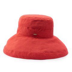 Women's Scala Cotton Big Brim Hat
