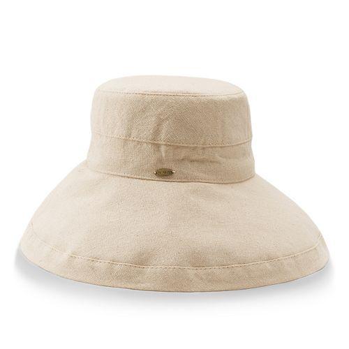 111b5fdd Women's Scala Cotton Big Brim Hat