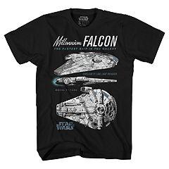 Boys 8-20 Han Solo Millennium Falcon Tee