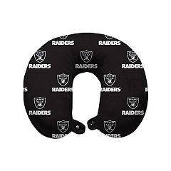 Oakland Raiders Travel Pillow