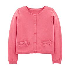 Girls 4-7 Carter's Bow Cardigan Sweater