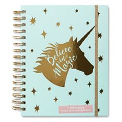 17 Month Agenda Organizer - Aug. '18 to Dec. '19