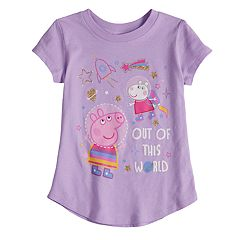 Toddler Girl Jumping Beans® Peppa Pig 'Out Of This World' Graphic Tee