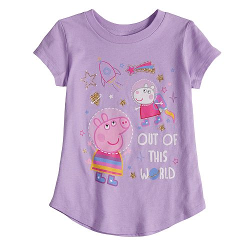 "Toddler Girl Jumping Beans® Peppa Pig ""Out Of This World"" Graphic Tee"
