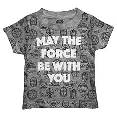 Toddler Boy Stars Wars 'May The Force Be With You' Graphic Tee