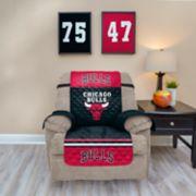 Pegasus Chicago Bulls Recliner Furniture Protectors with Elastic Straps