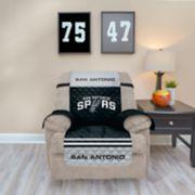Pegasus San Antonio Spurs Recliner Furniture Protectors with Elastic Straps