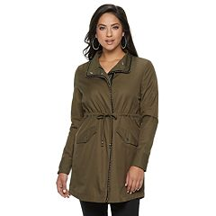 Women's Jennifer Lopez Studded Anorak Jacket