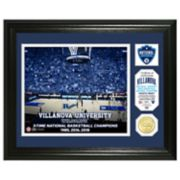 Highland Mint Villanova Wildcats 2018 National Champions Commemorative Coin Framed Photo