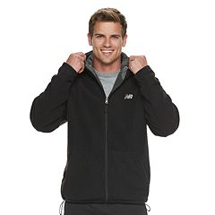 Men's New Balance Sherpa-Lined Hooded Jacket