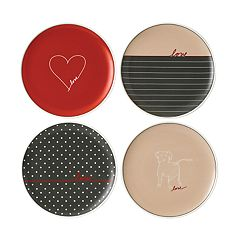 ED Ellen DeGeneres Crafted By Royal Doulton Signature 4-piece Plate Set