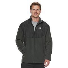Men's New Balance Colorblock Polar Fleece Jacket