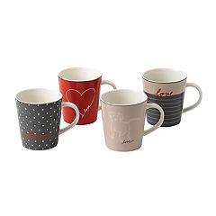 ED Ellen DeGeneres Crafted By Royal Doulton Signature 4-piece Mug Set