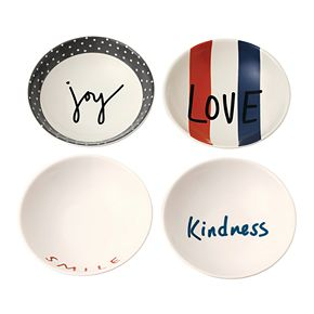 ED Ellen DeGeneres Crafted By Royal Doulton Joy 4-piece Bowl Set