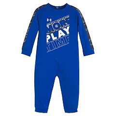 Baby Boy Under Armour 'More Play Time' Coverall